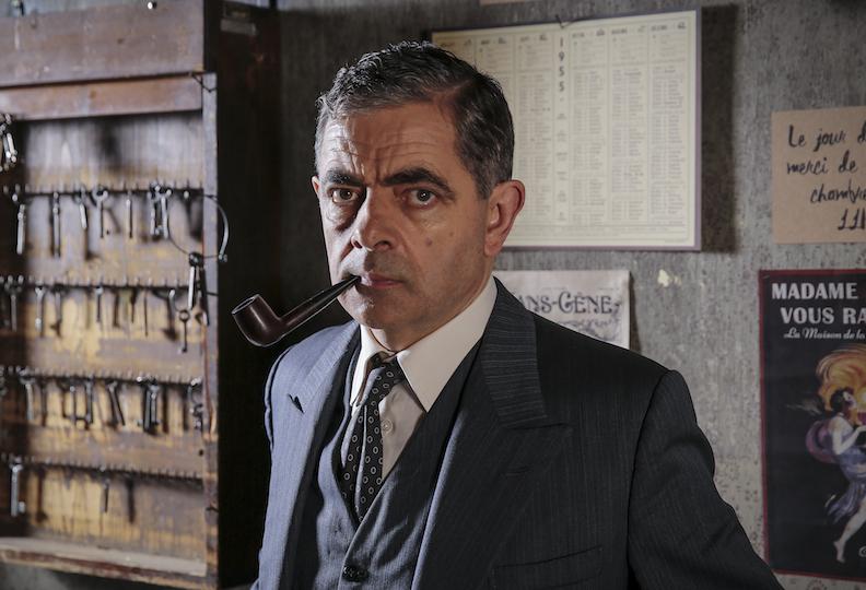 Rowan Atkinson reprend, avec beaucoup de culot, le rôle de Maigret dans un téléfilm britannique d'1h30.