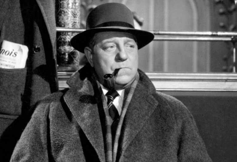 Jean Gabin a joué trois fois le rôle du commissaire Maigret au cinéma. En 1958 dans « Maigret tend un piège » et 1959 dans « Maigret et l'affaire Saint-Fiacre » de Jean Delannoy. Ainsi que dans « Maigret voit rouge » en 1963 de  Gilles Grangier.