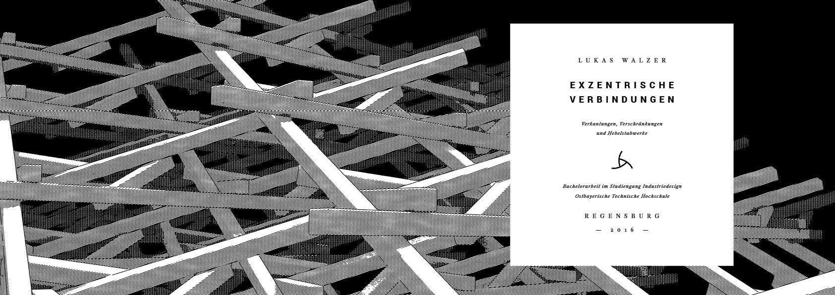 Exzentrische Verbindungen Lukas Walzer Gestaltung