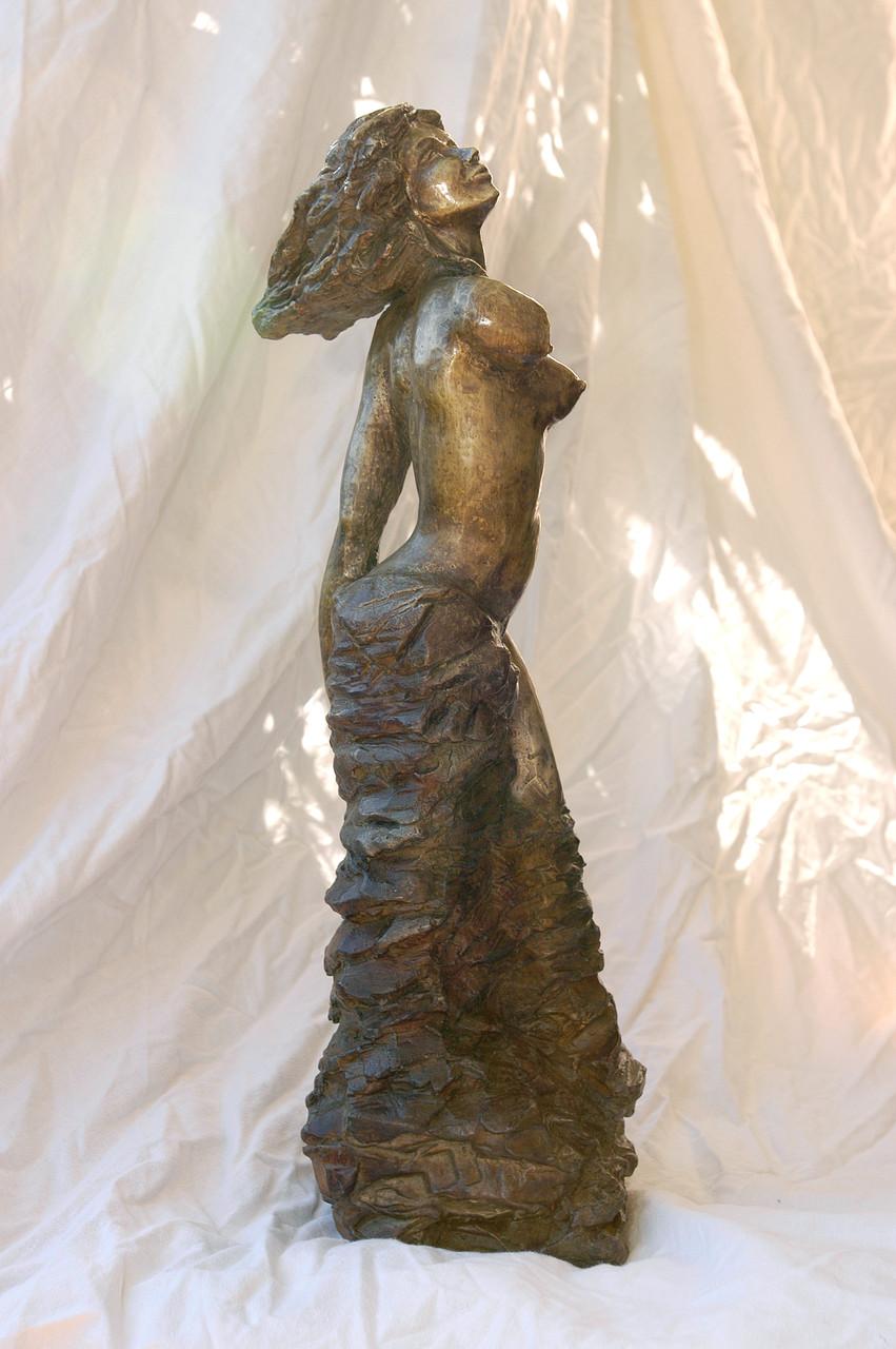 Terpsichore,  sculpture femme bronze - 1200 euros