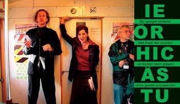 S-Bahn-Event: PARA-DIES-UND-DAS-AUCH-NOCH-LAUT-UND-DOPPELT, 13.10.2003 (Tom de Toys & Elisa Gallo Rosso zwischen Bhf-Zoo & Alex)