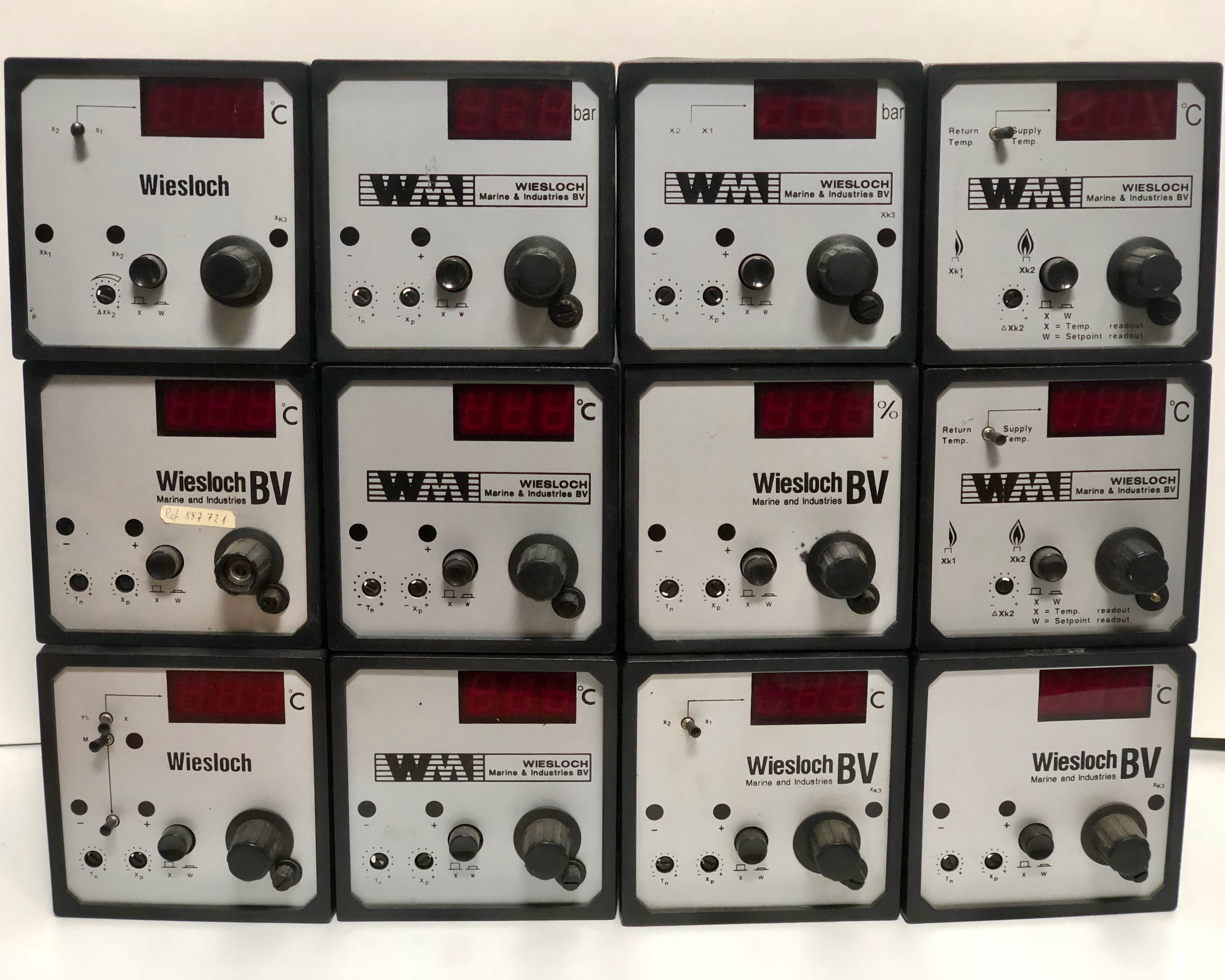Wiesloch Aalborg electric controllers