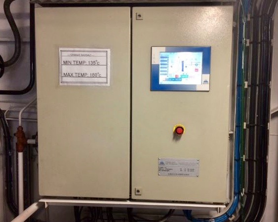 switch box, Aalborg, HMI, front panel