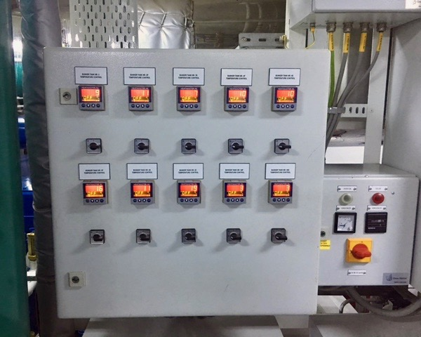 Jumo, electric temperature controller, switch box