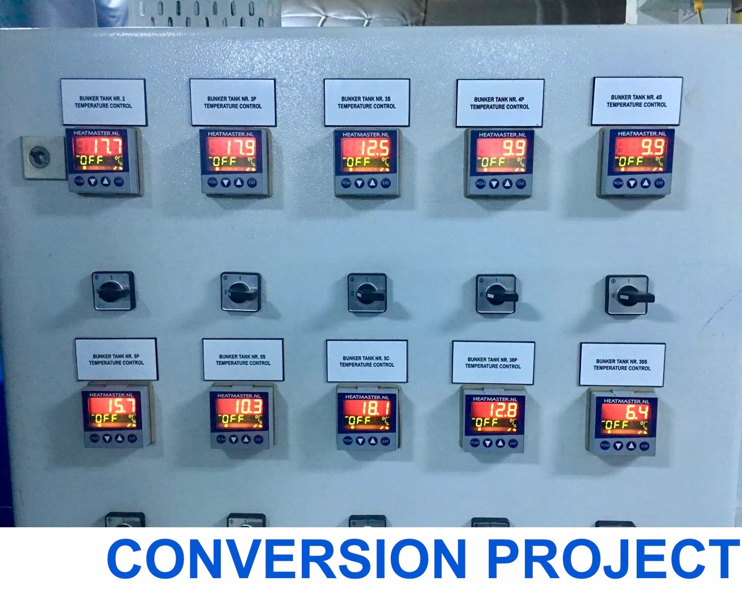 Upgrading and Conversion Projects - I.S.S. INDUSTRIAL & SHIP SERVICES BV