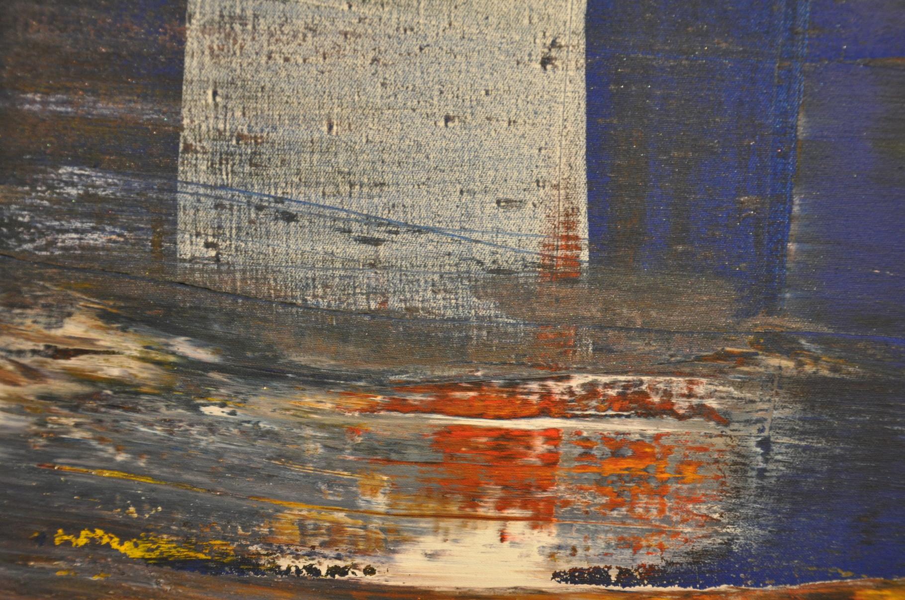 Offenbarung III: Wege ins Zentrum (Diptychon / außen) 2009 / Acryl auf Leinwand / 120 x 80 cm / Detail