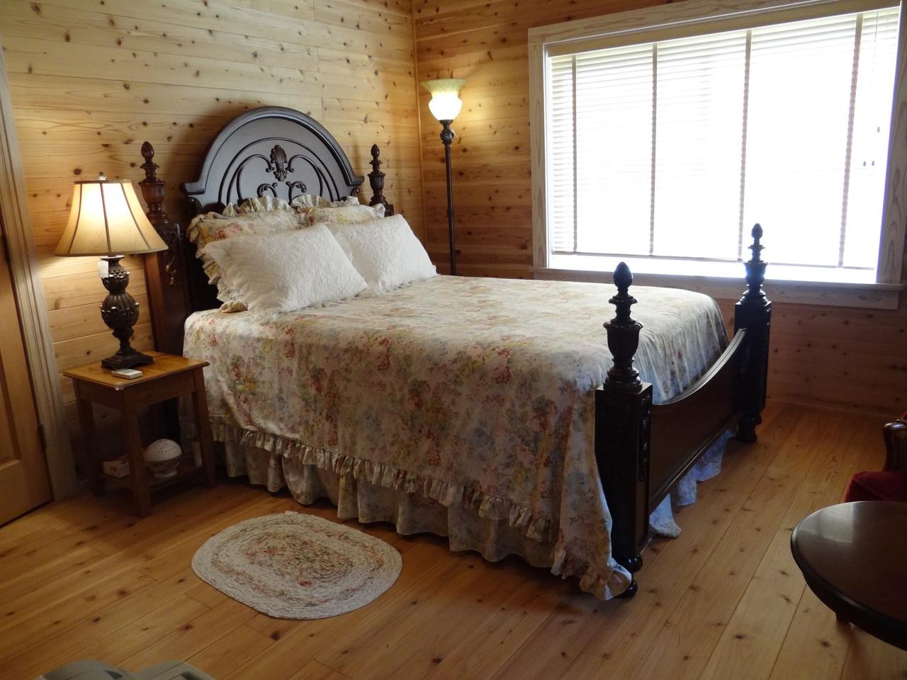 ハナルーム、クイーンサイズベッド Hana room ,Queensize bed