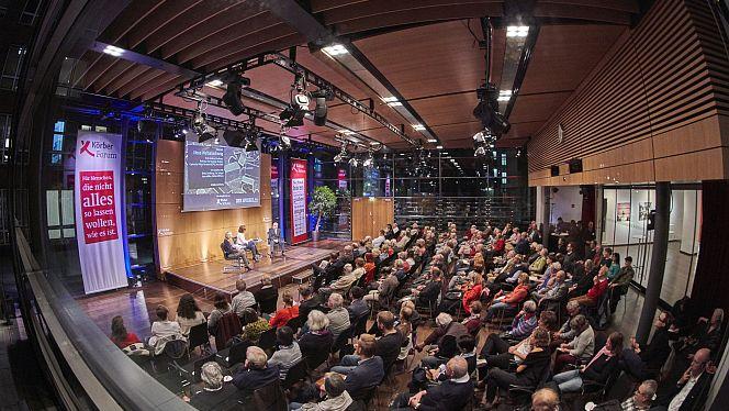 Unser zentraler Veranstaltungsort: Das KörberForum in der HafenCity