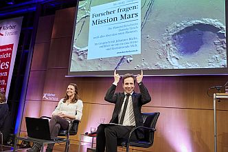 Zukünftige Mars-Expeditionen sind das Thema der Veranstaltung »Forscher fragen«