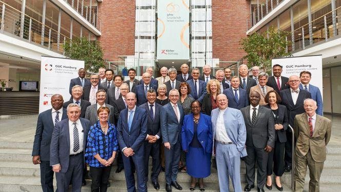 45 Hochschulleitungen aus 23 Ländern kommen in Hamburg zusammen