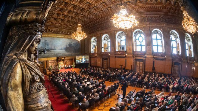 Preisverleihung am 13. September 2019 im Hamburger Rathaus (Foto: David Ausserhofer)