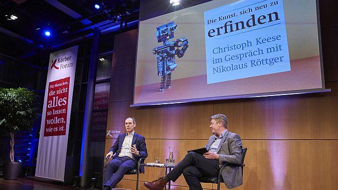 Im KörberForum: Die Kunst, sich neu zu erfinden
