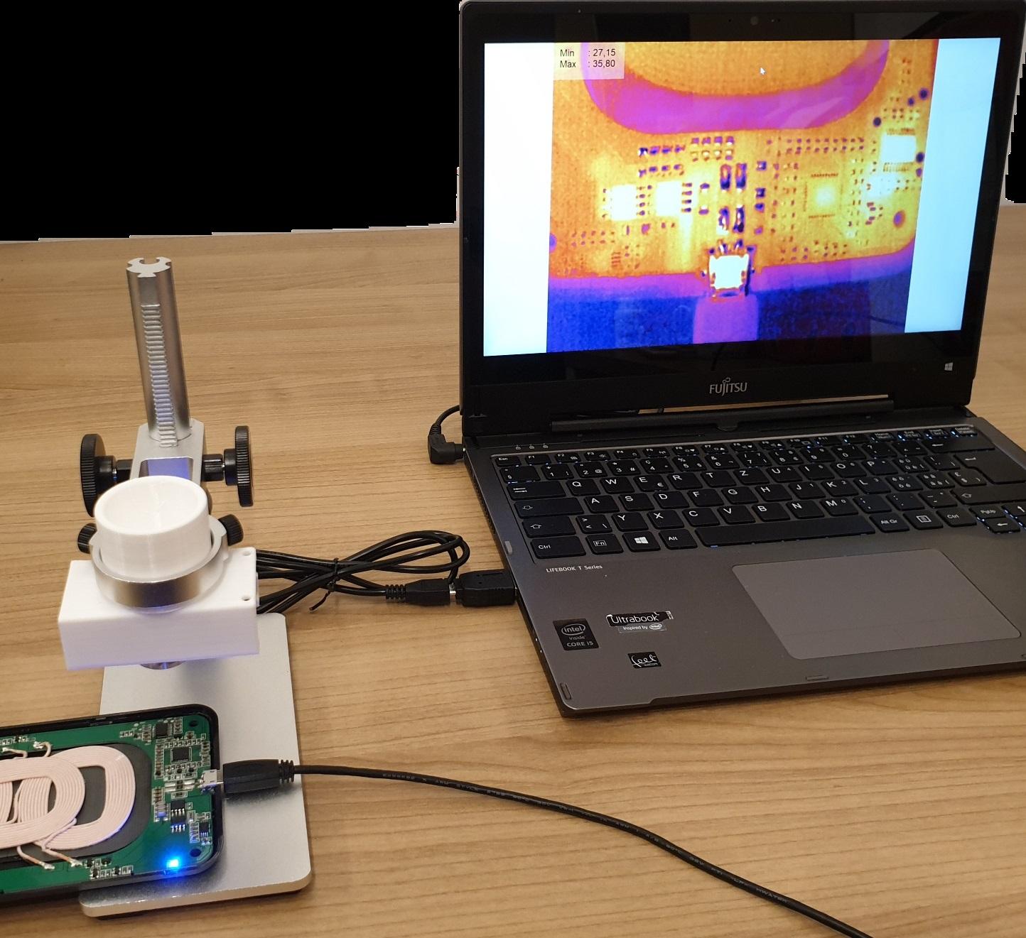 Thermal imaging electronics repair