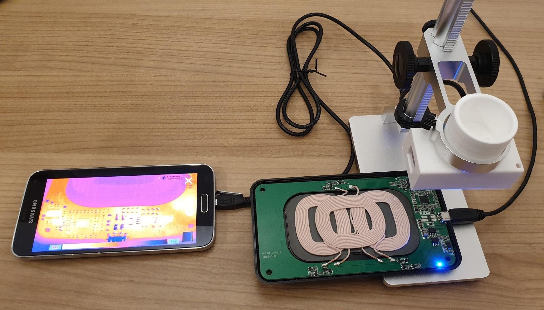 Thermal imaging smartphone repair