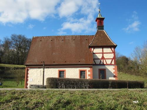 Duttenberger Wahrzeichen - Die Kreuzkapelle