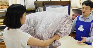ふんわり除菌「500円ふとんメンテナンスパック」当日お持ち帰り出来ます!/ SLEEP CUBE WATAYA