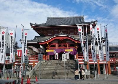 名古屋の定番観光スポット「大須観音」