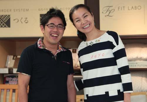 山本華世さんと私 | 睡眠の日ぐっすりキャンペーン
