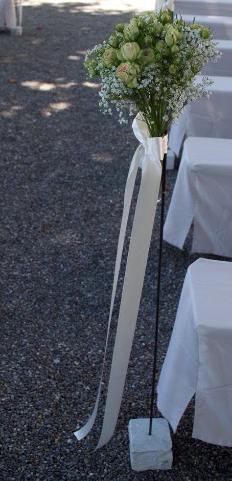 Hochzeit Dekoration Draussen