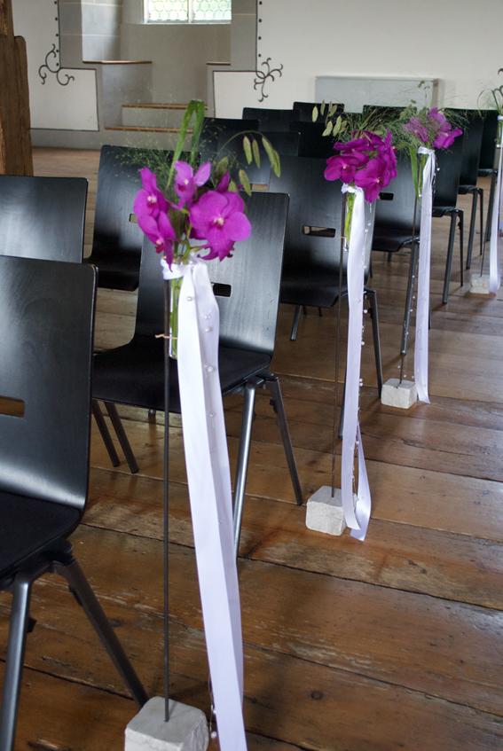 Dekoration Hochzeit Aargau