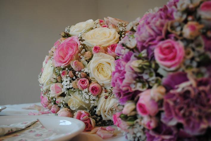 Blumen Dekoration Hochzeit