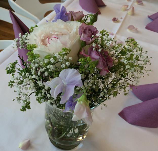 Baden Hochzeit Blumen