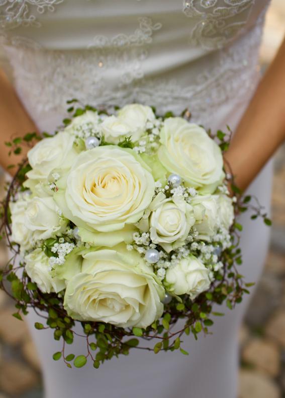 Hochzeit Blumen Weiss