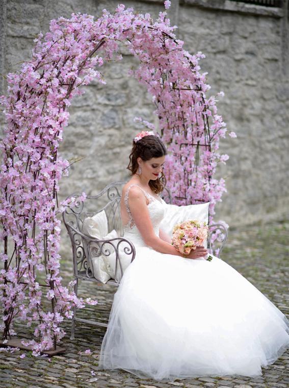 Hochzeit Shooting Dekoration