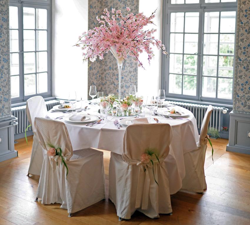 Lenzburg Tischdekoration Heiraten
