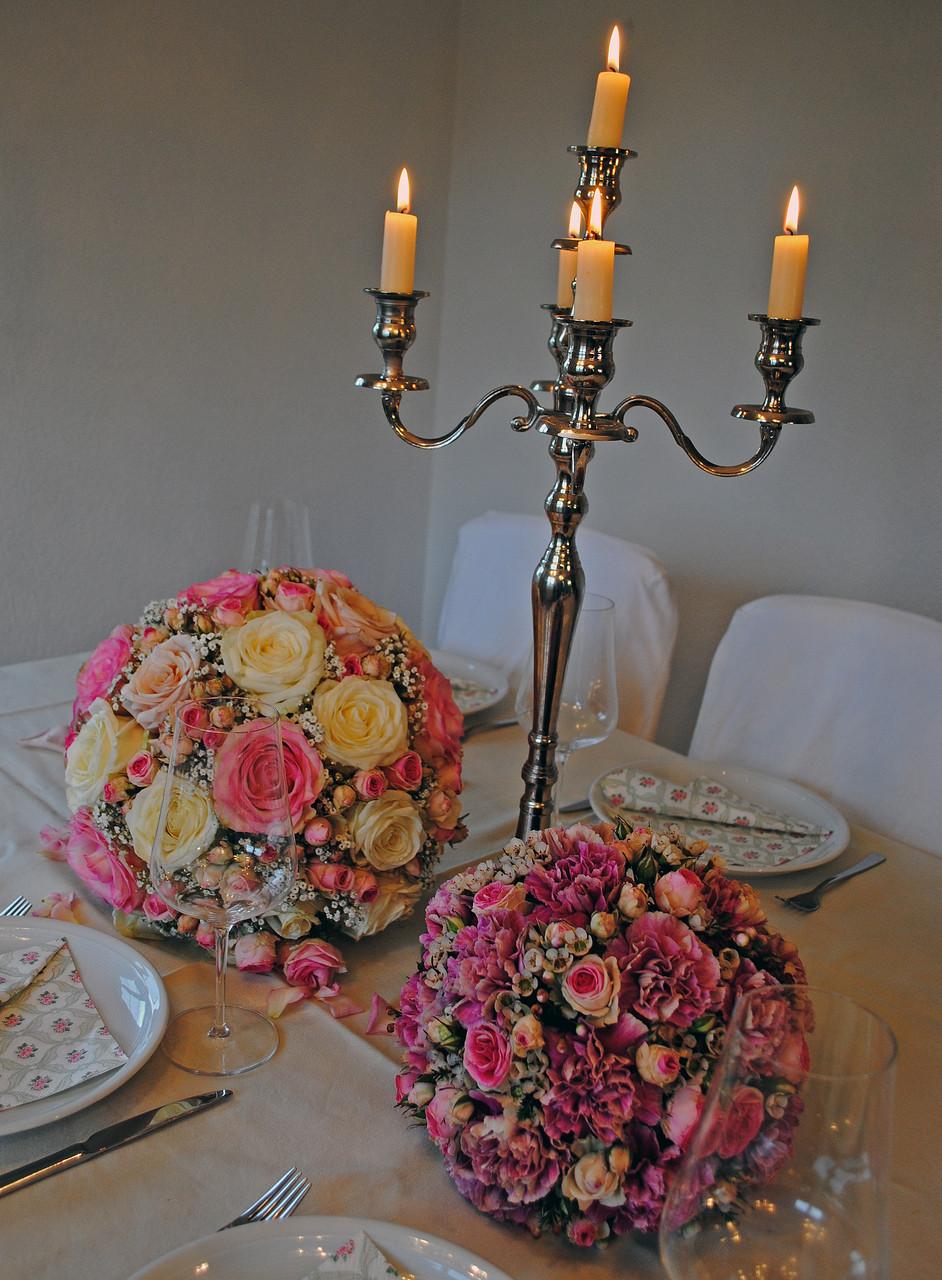 Kerzenständer Hochzeit Aargau