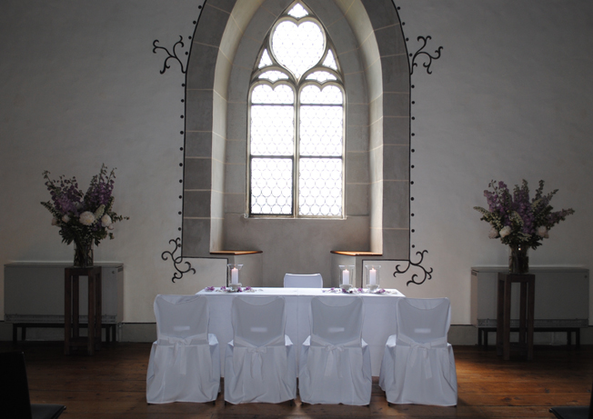Dekoration Schloss Lenzburg