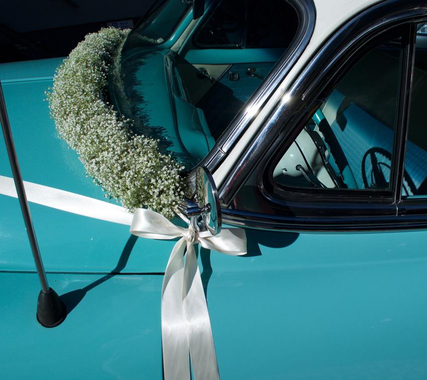 Autodekoration Hochzeit Oldtimer
