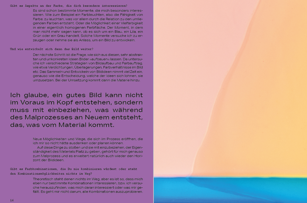 Julia Burek, Galerie an der Pinakothek der Moderne - Barbara Ruetz, 2021