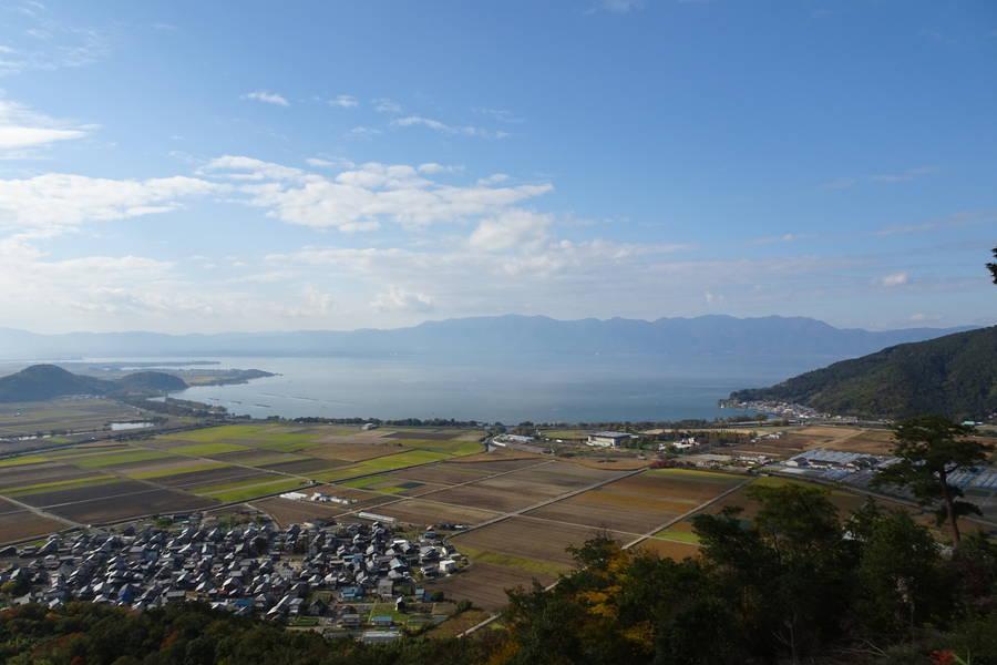 琵琶湖展望の八幡山城跡は恋人の聖地で縁結びのパワースポット?【滋賀観光スポット】