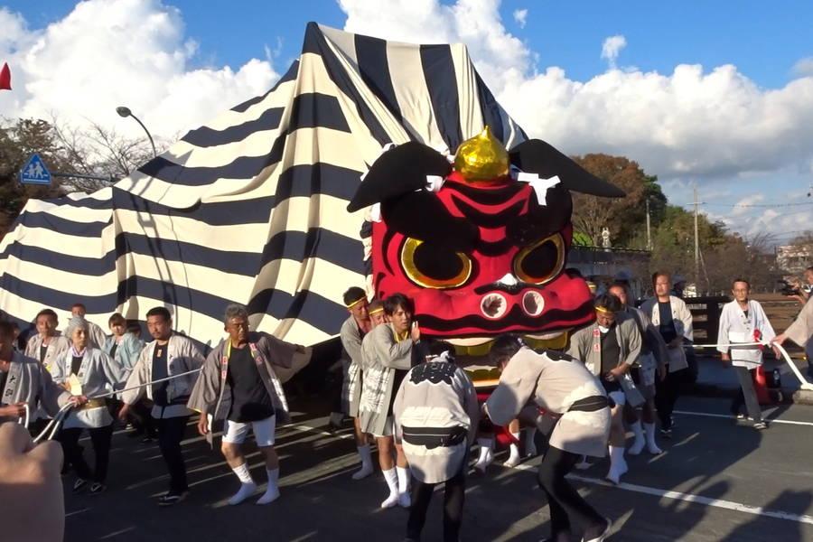 3年に1度の掛川大祭(掛川祭)で秋夜の風情を楽しむ
