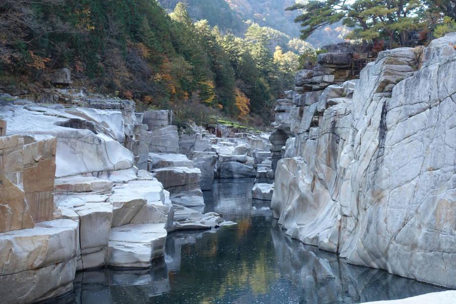 寝覚の床|浦島太郎が釣りをして過ごした日本五大名峡【長野観光スポット】