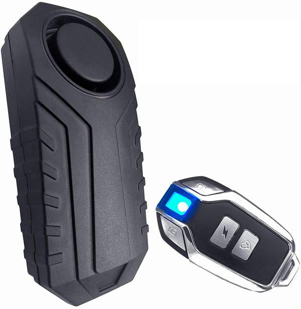 バイクにリモコン式セキュリティアラームを装着してみた