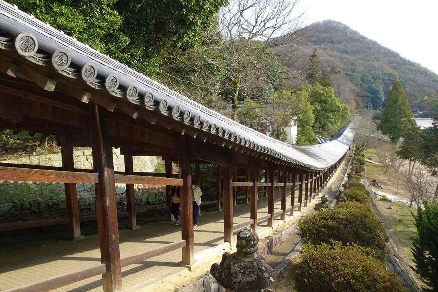 美しい回廊の吉備津神社と大学生【日本半周してた旅~第5話】