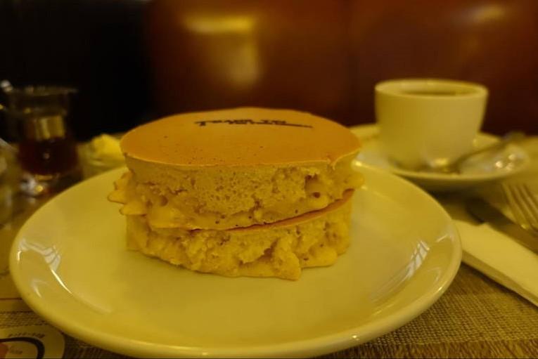 珈琲の店 雲仙|分厚いふわふわホットケーキが絶品【京都グルメ】