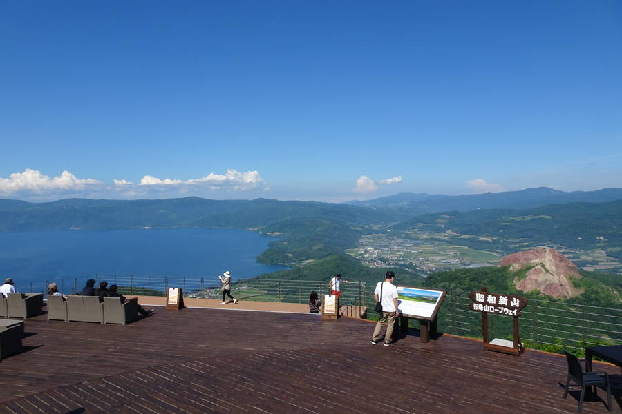 有珠山ロープウェイを使わずに登山してみました【北海道観光スポット】