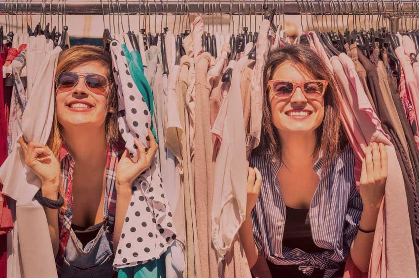 Personal Shopping und Stilberatung - Shoppingtour mit Freunden