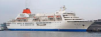 クルーズ客船『ふじ丸』(Wikipediaより)