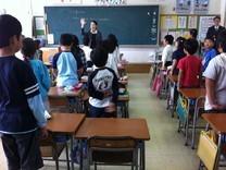 2年生の算数の授業の様子