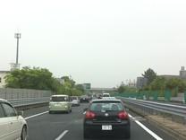 東名高速道路-混んでました〜!