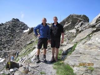 Michael und Andreas - Glungezerhütte