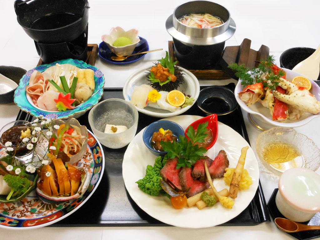 お祝い膳の(10,000円)の例