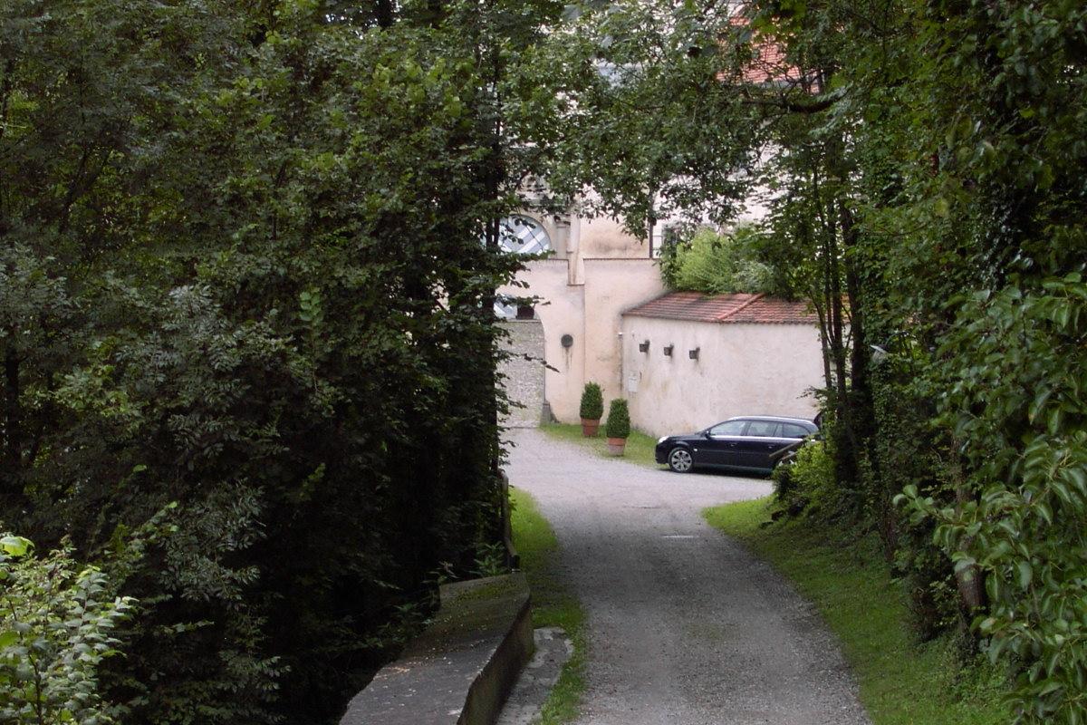 Schloss Achberg Zufahrt