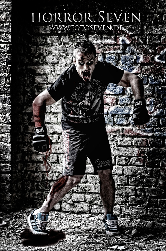 Zombie Fighter - Nick Hein - UFC Fighter - MMA
