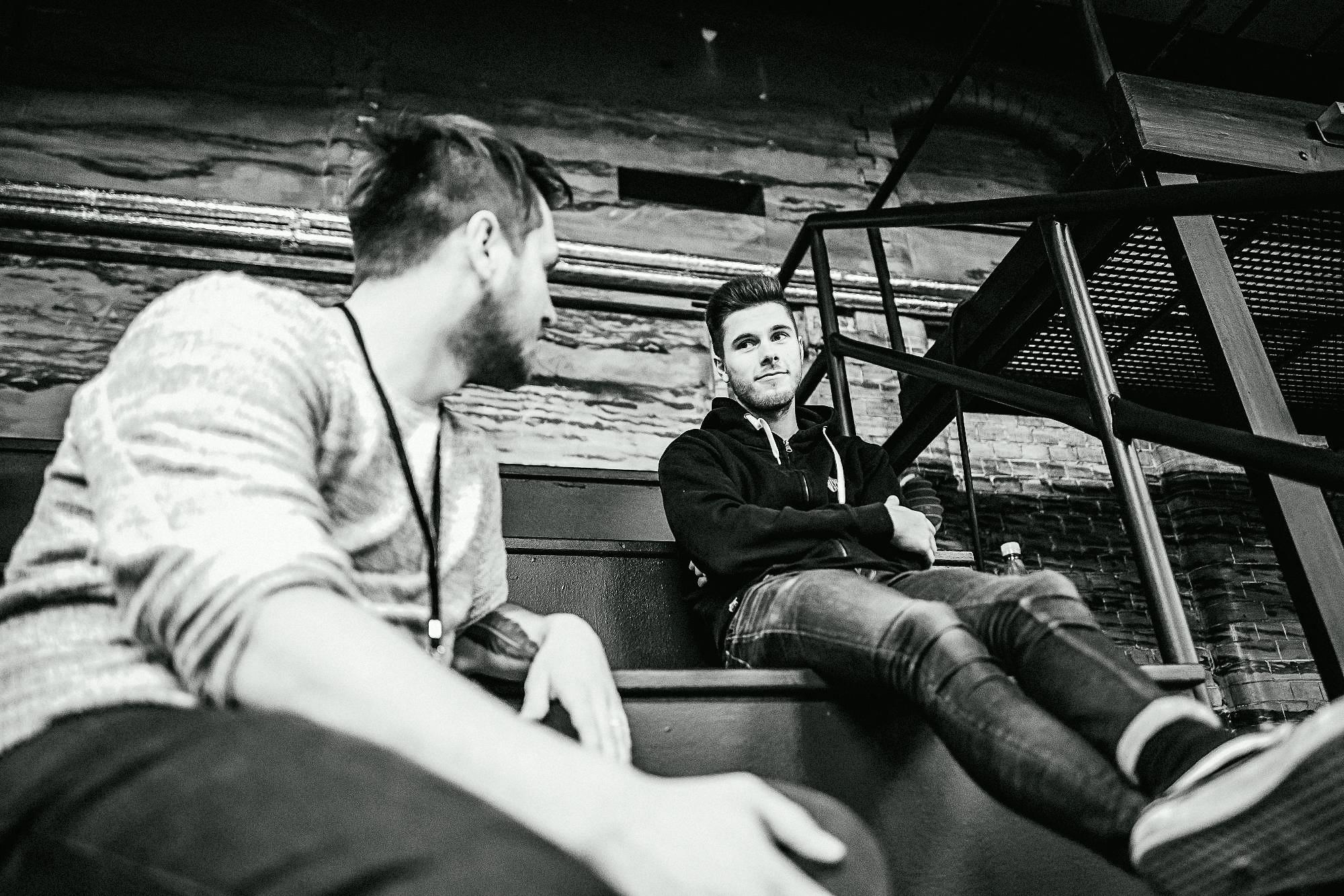 Jakob und Tino von Flash Forward