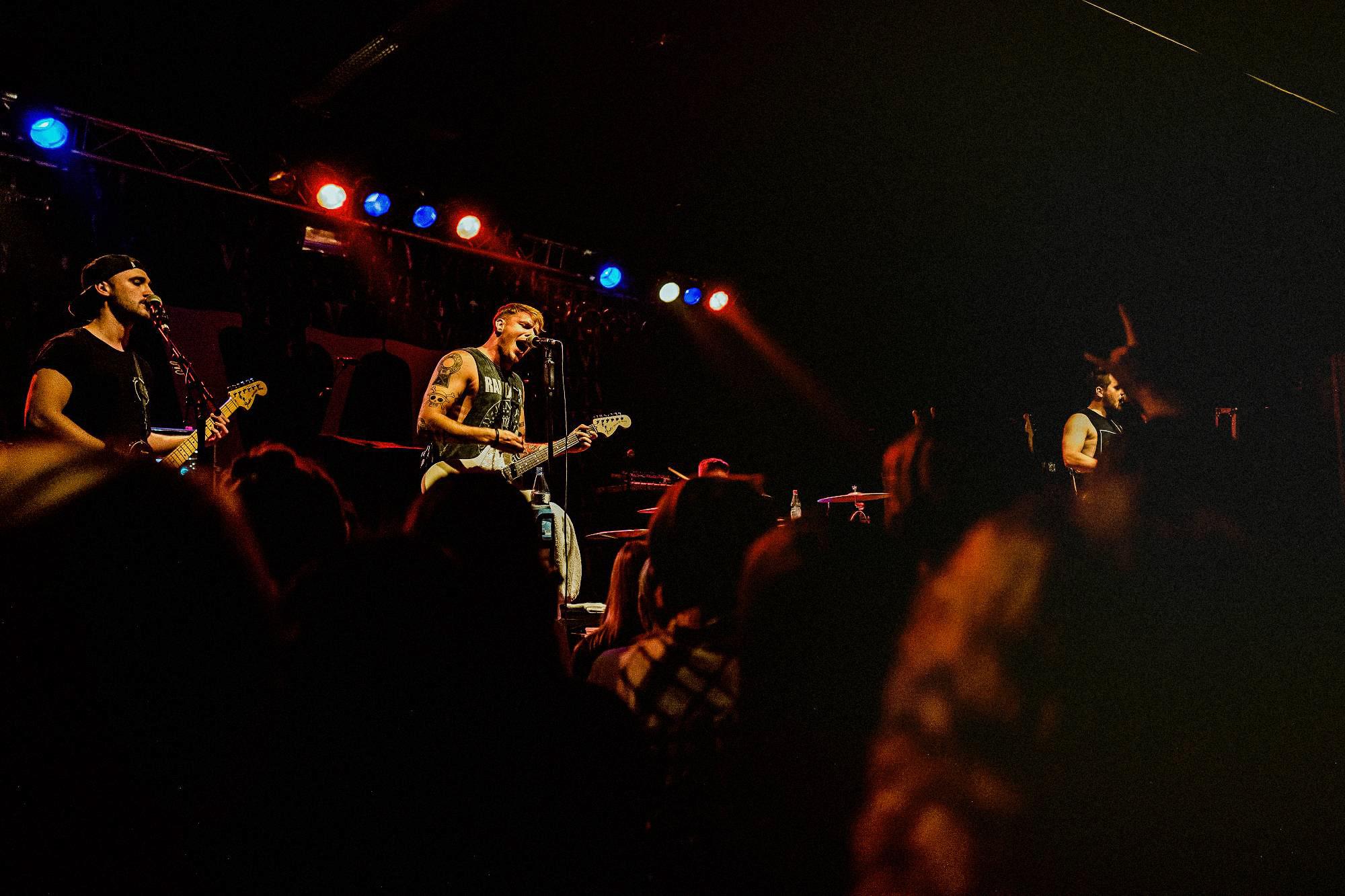 Stefan auf der Bühne in Hannover